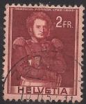 Sellos de Europa - Suiza -  JOACHIM FORRER 1782-1833