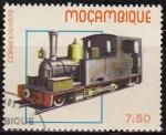 Sellos del Mundo : Africa : Mozambique : Mozambique 1987 Scott 659 Sello Nuevo Locomotoras Historicas Viejos Trenes Matasello de favor