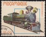 Sellos del Mundo : Africa : Mozambique : Mozambique 1987 Scott 661 Sello Nuevo Locomotoras Historicas Viejos Trenes Matasello de favor