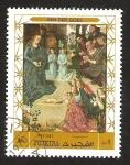 Stamps United Arab Emirates -  FUJEIRA - VAN DER GOES