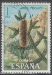 Stamps : Europe : Spain :  ESPANA 1972 (E2085) Flora - Pinsapo 1p 5 INTERCAMBIO