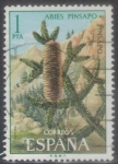Stamps : Europe : Spain :  ESPANA 1972 (E2085) Flora - Pinsapo 1p 4