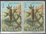 Stamps : Europe : Spain :  ESPANA 1972 (E2085) Flora - Pinsapo 1p 3 INTERCAMBIO
