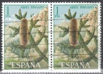 Stamps : Europe : Spain :  ESPANA 1972 (E2085) Flora - Pinsapo 1p 2