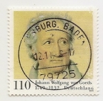 Stamps : Europe : Germany :  Johann Wolfgang von Goeth