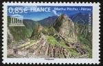 Sellos de Europa - Francia -  PERU - Santuario histórico de Machu Picchu