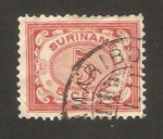 Stamps America - Suriname -  cifra
