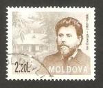 Sellos del Mundo : Europa : Moldavia : ion creanga, poeta