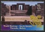 sellos de America - ONU -  BOLIVIA -  Tiwanaku: centro espiritual y político de la cultura Tiwanaku