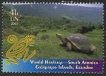 Stamps ONU -  ECUADOR -  Islas Galápagos