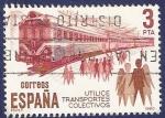 Sellos de Europa - España -  Edifil 2560 Utilice transportes colectivos 3