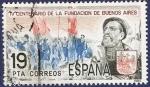 Sellos de Europa - España -  Edifil 2584 Fundación de Buenos Aires 19