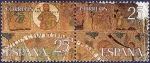 Stamps Spain -  Edifil 2586-2587 Tapiz de la Creación B-C 25