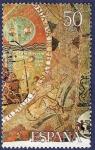 Stamps Spain -  Edifil 2590 Tapiz de la Creación F 50