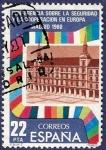 Stamps Spain -  Edifil 2592 Conferencia sobre seguridad y cooperación 22 B