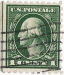 Stamps United States -  1 cent