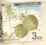 Stamps Asia - Vietnam -  Fruta tropical