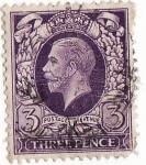 Stamps : Europe : United_Kingdom :  three pence