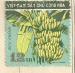 Stamps Asia - Vietnam -  Piñas de Plátanos