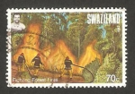 Stamps Africa - Swaziland -  Lucha contra los incendios forestales