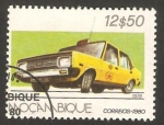 Stamps Africa - Mozambique -  taxi fiat 131