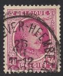 Sellos de Europa - Bélgica -  Rey Alberto I de Belgica.