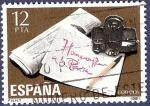 Sellos de Europa - España -  Edifil 2610 Homenaje a la prensa 12