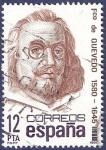 Stamps Spain -  Edifil 2619 Francisco de Quevedo 12