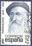 Stamps Spain -  Edifil 2643 José María Iparraguirre 12