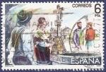 Stamps Spain -  Edifil 2654 Maruxa 6