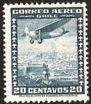 Stamps America - Chile -  CORREO AEREO DE CHILE