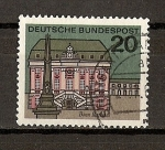 Stamps Germany -  DBP / Capitales / Bonn
