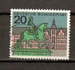 Sellos de Europa - Alemania -  DBP / Capitales / Duseldorf