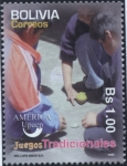 Stamps of the world : Bolivia :  Juegos Tradicionales