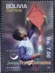 Stamps Bolivia -  Juegos Tradicionales