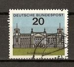 Sellos de Europa - Alemania -  DBP / Capitales / Berlin