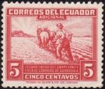 Stamps : America : Ecuador :  Seguro Social del campesino