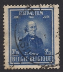 Sellos de Europa - Bélgica -  Joseph-Antoine Ferdinand Plateau