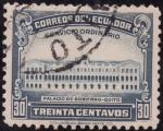 Stamps America - Ecuador -  PALACIO DE GOBIERNO ó PALACIO DEL BARÓN DE CARONDELET
