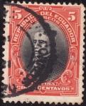 Stamps Ecuador -  PRESIDENTES:Urvina.