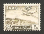 Sellos del Mundo : Asia : Irak : un avión