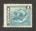 Stamps Europe - Iceland -  Bacalao