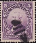 Stamps America - Ecuador -  PRESIDENTES:Urvina.