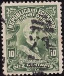 Stamps America - Ecuador -  PRESIDENTES : García Moreno
