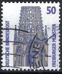Stamps Germany -  Freiburger, Münster