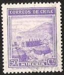 Stamps America - Chile -  CENTENARIO DESCUBRIMIENTO DE CHILE - MINERIA -