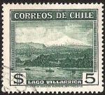 Sellos de America - Chile -  LAGO VILLARRICA