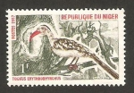 Stamps Africa - Niger -  190 - ave tockus erythrorhynchus