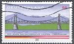Stamps Germany -  1º Centenario del puente de Salzach, Laufen Oberndorf