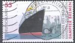 Stamps Germany -  Declaración  con banderas azules a los vapores de Bremen